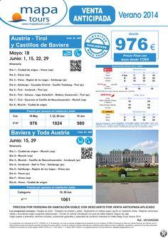 Austria - Tirol y Castillos de Baviera - Verano 2014 V.A. **Precio Final desde 1126** ultimo minuto - http://zocotours.com/austria-tirol-y-castillos-de-baviera-verano-2014-v-a-precio-final-desde-1126-ultimo-minuto-8/