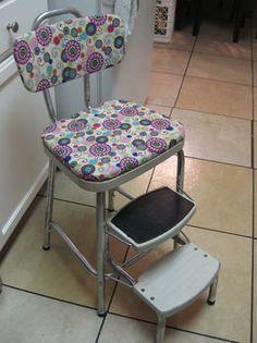 Cutesy Cosco Stepstool. Kitchen StoolsIn KitchenOld ChairsStep ...