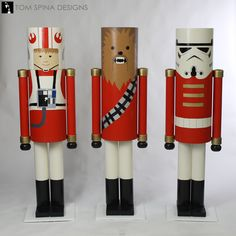Inspired by Star Wars, these life sized nutcracker props helped specialty retailer PiQ in NYC celebrate the holidays with an amazing window display! Nutcracker Sweet, Nutcracker Soldier, Nutcracker Christmas, Star Wars Christmas, Dollar Tree Christmas, Diy Christmas Ornaments, Outdoor Christmas Decorations, Christmas Themes, Kids Christmas