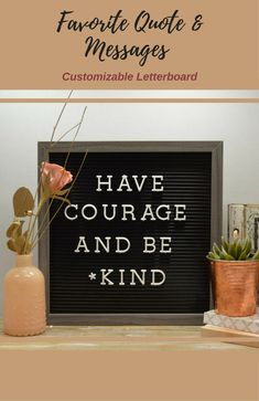 Display your favorite quote, provide some motivation, or leave little messages for friends and family members. The possibilities are endless! #Affiliate