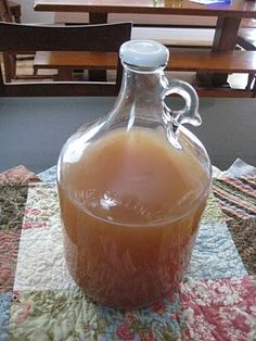 Four Thieves apple cider vinegar formula- massive immune system boost, naturally!