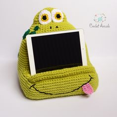 Joe Crochet Book Tablet Holder