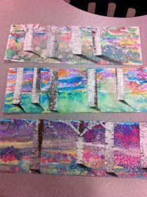 Drip, Drip, Splatter Splash: Watercolor Birch Trees