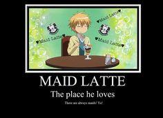 I am now a maid. That will be my new job. I call it!