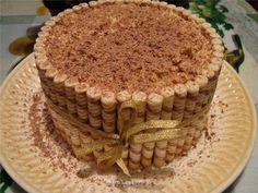 Tortas decoradas con barquillos - LaCelebracion.com