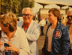 Big Cub Fans, Harry Carey and Curt, by Macker