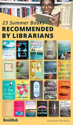 Books Librarians Think You Should Read This Summer book recommendations 2018 reading list from librariansbook recommendations 2018 reading list from librarians Best Books To Read, I Love Books, New Books, Good Books, Book Suggestions, Book Recommendations, Book Club Books, Book Lists, Book Club List
