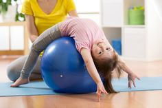 20 super fun core exercises for kids to help strengthen weak core muscles for better focus! Perfect for kids with autism, ADHD, and SPD!