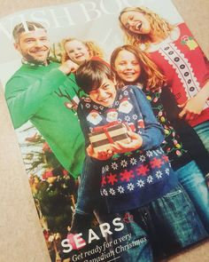 @Sears #wishbook! This #advertising #relic is still kicking. I used to flip through and circle the things I wanted for Christmas. #throwback #christmas #marketing #uglychristmassweater #catalogue #throwbackthursday #memories #calgary #yyc #shopyyc #oldschool #remember #shopaholic