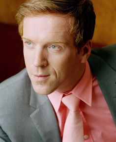 I will be honest. I do not like the tie but the shirt I would definitely wear. Damian Lewis, Charming Man, British Boys, Pretty Face, Pretty People, Dapper, Redheads, Red Hair, Style Icons