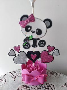 Panda Themed Party, Panda Birthday Party, Panda Party, Birthday Crafts, 1st Birthday Parties, Panda Icon, Panda Baby Showers, Panda Love, Ideas Para Fiestas