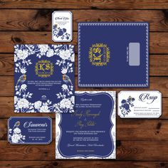Blue chinoiserie inspired wedding invitation ideas | Blue Chinoiserie by Jolly's Little Dreams | http://www.bridestory.com/jollys-little-dreams/projects/blue-chinoiserie