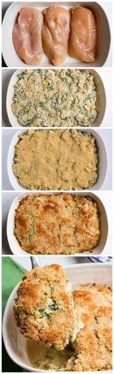 Creamed Spinach - Lightened Up Recipe — Dishmaps