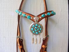 Featured Products - Inspired Turquoise<br />Red Turf Ranch Custom Tack<br />& Fine Leather Goods<br />​