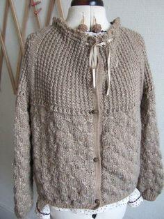 Vete et points de tricot ... DIY !!!