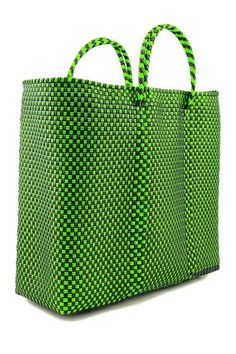The Plastic Woven Tote Bag is a multitasker with a subtle touch of styling 050ce61c9ba9e