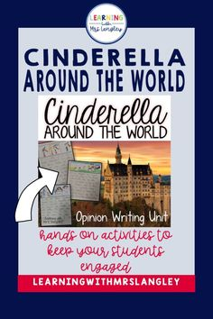 This blog post outlines a perfect Cinderella Around the World unit for first grade. Includes details on how to create an anchor chart to teach character, setting, and plot as you read these fun stories as well as writing activities to teach 1st grade opinion writing standards. Kindergarten Writing, Kindergarten Classroom, Classroom Ideas, Reading Lessons, Writing Lessons, Hands On Activities, Writing Activities, Reading Boards, Fun Stories