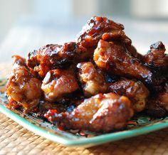 One-Pot Sticky Chicken Wings #recipe