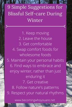 Read more about these 9 simple suggestions for blissful self-care during winter Me Time, Health And Wellness, Mental Health, Wellness Tips, Health Tips, Patterns In Nature, Healthy Mind, Self Improvement, Self Care