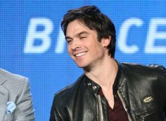 """Ian Somerhalder speaks onstage during the 'Years of Living Dangerously"""" panel discussion at the Showtime portion of the Winter Television Critics Association tour (January 16, 2014)"""