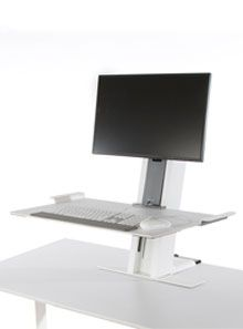 Great Ergo Solutions: Humanscale's QuickStand Workstation - the sit/stand solution for the active workplace