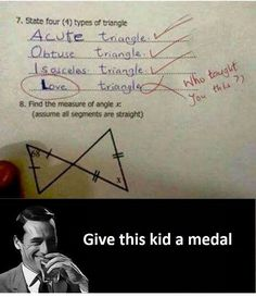 These Test Answers Are Completely Wrong But Genius at the Same Time - Memebase - Funny Memes Funniest Kid Test Answers, Kids Test Answers, Funny Cute, Hilarious, Things Kids Say, Funny Memes, Jokes, Baguio, School Humor