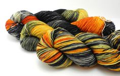 Soldier Field - Hand Dyed Yarn - Dyed to Order