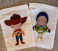 Adorable Toy Story Favor Bags by SweetLilysConfection on Etsy, $15.00