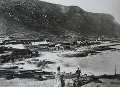 Kalk Bay, year?? Old Photos, Vintage Photos, Historical Pictures, African History, Cape Town, South Africa, Places To Go, Landscape, Live
