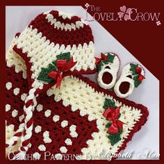 patterns for Holly Earflap Beanie and Baby Holly Shoes