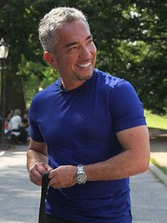 The Dog Whisperer - Cesar Millan Gives Tips for How to Walk Your Dog at http://WomansDay.com - Woman's Day