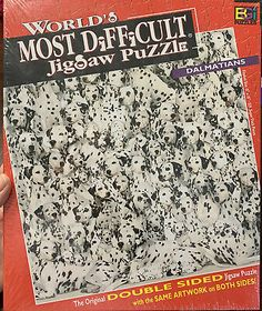 Advertisement - World's Most Difficult Jigsaw Puzzle Dalmatians Buffalo games New Sealed