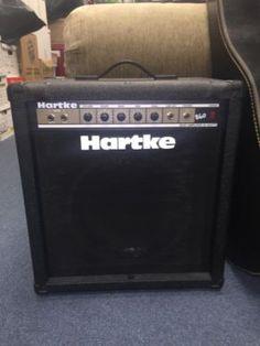 """Hartke B60 - Bass Amplifiers - 60-watt bass combo with 1 12"""" speaker."""