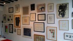 Collections Particulières • Dans les petits papiers des grands artistes • 1950 - 1970 //  Exposition collective jusqu'au 5 mars 2015 // Travaux sur Papiers //  Galerie Intuiti PARIS