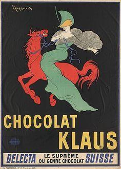 """""""Chocolat Klaus"""" - Leonetto Cappiello, 1903"""