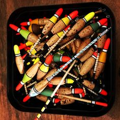 Fishing Tackle, Fishing Lures, Bobbers, Traditional, Retro, Nice, Handmade, Ideas, Products