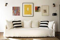 Salas pequenas decoradas simples