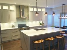 Bright And Ious Kitchen By Gala Kitchens Bath Via Homestars Pinterest