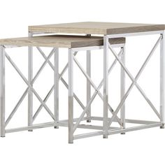 Found it at Wayfair - Oliver 2 Piece Nesting Table Set