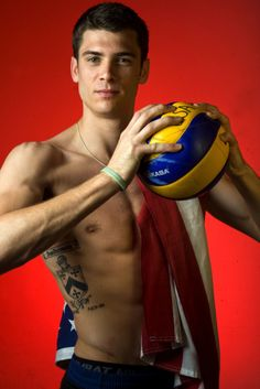 Matt Anderson - USA Men's Olympic Volleyball Team. Yes.