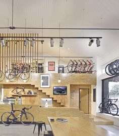 Bike Gallery Store Layout