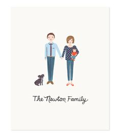 Custom Family Portrait Prints