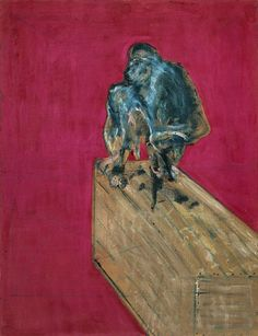 Francis Bacon, Study for Chimpanzee, 1957.