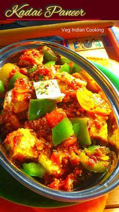 Veg Indian Cooking: Kadai Paneer