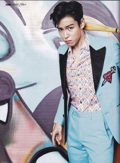 "Full Scans from T.O.P in ""Cosmopolitan China"" (September 2016) [PHOTO] - bigbangupdates"