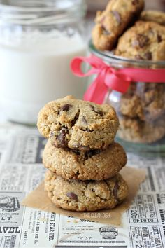 """Grain free Chocolate Chip Cookies + Book Giveaway """"One Simple Change"""" + Chat with the author!!"""