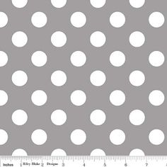 Riley Blake Fabric Polka Dot Dots Medium 3/4 by AllegroFabrics, $10.00@mtaylor8609