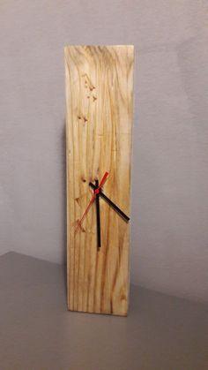 Orologio in legno da parete o da tavolo, by Vale Decò, 25,00 € su misshobby.com