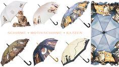 Motivschirme * Katzen * Onlineshop www.coco24.de #regenschirm #umbrella #parasol #katzen
