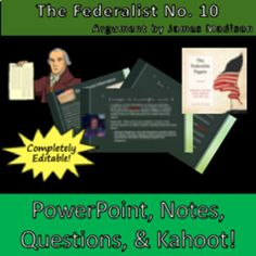 The Federalist Common Core Lesson Plan Level school Resou English Lesson Plans, English Lessons, Middle School Teachers, New Teachers, High School Reading, High School Hacks, Reading Lesson Plans, English Teachers, School Resources